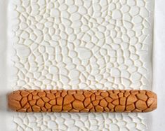 Discover thousands of images about MKM HandRoller 05 Bubbles Ceramic Pottery, Ceramic Art, Patterned Paint Rollers, Organizing Hacks, Clay Texture, Natural Texture, Ceramic Tools, Clay Stamps, Polymer Clay Tools