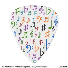 Shop Lots of Musical Notes and Symbols Guitar Pick created by AponxDesigns. Music Teacher Gifts, Music Teachers, Instruments, Guitar Accessories, Guitar Strings, Guitar Picks, Cool Guitar, Playing Guitar, Musicals