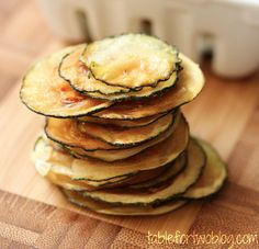Zucchini Chips This Is Easy and Perfect For Me.