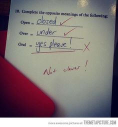 Haha that is very clever