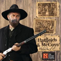 History Channel Mini Series ~   The Hatfields and McCoys