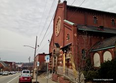 A brewery inside of a church? Yes, Please! Found in Pittsburgh, Pennsylvania - http://uncoveringpa.com/church-brew-works