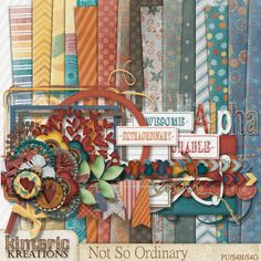 Not so Ordinary by Kimeric Kreations at {scrapflower}