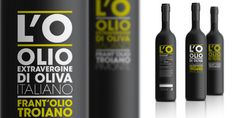 L'O Olio, Olive oil packaging, by Domenico Catapano at Systèma