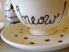 Piezas que complacen las sombras de tu alma: CATS TEA PARTY