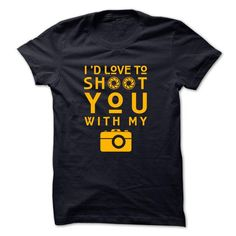 Id like to shoot you with my camera - #tshirt flowers #pink sweater. THE BEST  => https://www.sunfrog.com/No-Category/Id-like-to-shoot-you-with-my-camera.html?id=60505