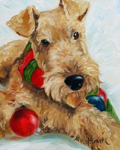 Ornaments Holiday cards - Airedale Rescue