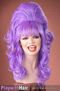 Bouncy Layered Beehive Wig - COLOUR CHOICES! | eBay  $91.78