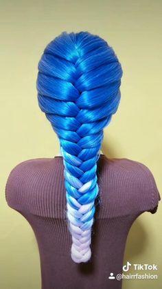 Easy Hairstyles For Long Hair, Braids For Long Hair, Summer Hairstyles, Up Hairstyles, Hairstyle Ideas, Short Hair, Braids Easy, Braids Cornrows, Crown Braids