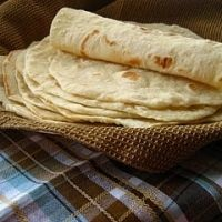 "Texas Flour Tortillas. "" I have made these sevral times and the fam loves them. Does not follow the tradition of using lard. These are very fluffy and remind us from the torts in San Antonio, Alamo Cafe. , (although nothing is as good as those..)"""