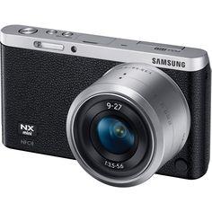 Samsung NX Mini Mirrorless Digital Camera with 9-27mm Lens