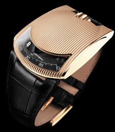 Hmmm haven't decided what I like about this one, it kinda looks like a bracelet              The URWERK 103.03