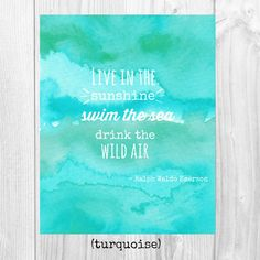 emerson quote watercolor print art artwork by thesweetestdigsco