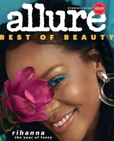 Every time Rihanna conjures something new, we happily sink further under her spell. And with Fenty Beauty, she reinvented the beauty business. For Allure Magazine's 2018 Best of Beauty Awards issue, we honor the year of Fenty. Rihanna Cover, Allure Beauty, Rihanna Style, Rihanna Fashion, Beauty Forever, Rihanna Fenty, Bad Gal, Beauty Magazine, Beauty