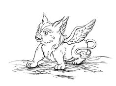 Baby griffin Tattoo to represent my daughters
