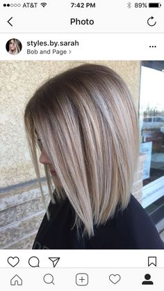 Stacked Bob Haircut Ideas To Try Right Now 4 - Frisuren Blunt Bob Haircuts, Stacked Bob Hairstyles, Blonde Bob Hairstyles, Short Curly Haircuts, Medium Bob Hairstyles, Curly Hair Cuts, Short Hair Cuts, Straight Hairstyles, Curly Hair Styles