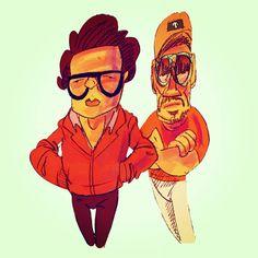 "she-seeing:  ""Ok but let's remember who the original Hulkbros are #theonlybros #sciencebros #ironman #tonystark #robertdowneyjr #brucebanner #hulk #hulk💚 #caricature #car #selfie #selfies #marvel #mcu #hulk #marvel #marvelcomics #marvelstudios #mcu..."