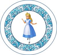 Classic Alice in Wonderland Free Printable Kit.