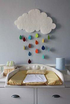 Gotas de lluvia aterciopeladas
