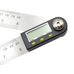 1pcs Paractical 2 In 1 Digital Angle Ruler Protractor 360 Degree 200mm Electronic Digital Protractor Angle Meter Angle Fin