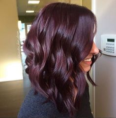Beautiful rich burgundy color