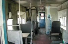 inside the train caboose - Buscar con Google
