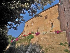 San Giovanni d'Asso, lovely small town in the Crete Senesi, Tuscany -Italy #tuscany