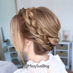 Cool Braid Hairstyles, Easy Hairstyles For Long Hair, Braids For Long Hair, Elegant Hairstyles, Wedding Hairstyles, Short Hair, Front Hair Styles, Medium Hair Styles, Curly Hair Styles