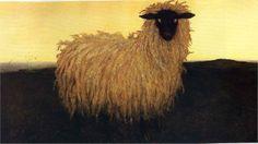 Portrait of Andrew Wyeth - Jamie Wyeth - WikiPaintings.org