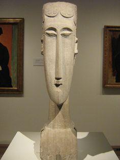 Tall Ornamental Grasses, Love Statue, Amedeo Modigliani, Italian Painters, Wood Sculpture, Sculpting, Face, Anton, Abstract Art