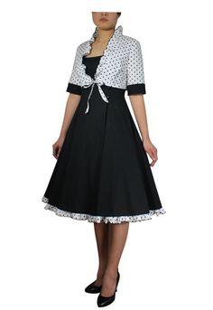 Retro polka dot tie shrug dress. Will be available for auction soon. 0 to 6x sizes. #retro #dress #polkadot