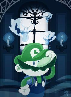 Super Luigi World by Sam Filstrup Luigi's Haunted Mansion, Luigi's Mansion, Super Mario Brothers