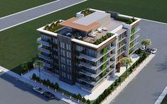 Residential Building Plan, Residential Architect, Building Facade, Condominium Architecture, Plans Architecture, Architecture Design, Facade Design, Exterior Design, House Floor Design