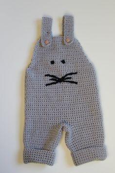 Anleitung Baby Latzhose Maus Gr. 74-86 von MaschenmitLiebe auf Etsy