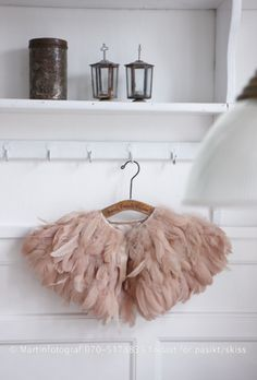 This would be so cute made out of tule or soft net to wear on top of a vintage prom type gown for Syd.