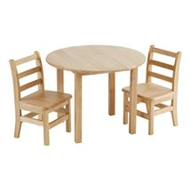 ECR4Kids Deluxe Hardwood Round Table https://www.schooloutfitters.com/catalog/product_family_info/cPath/CAT5_CAT1836/pfam_id/PFAM1336