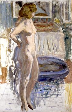 Pierre Bonnard painted his girlfriend Marthe all his life. Only, he stopped aging her in his work when she was around 30. And so he painted her on and on over the decades and still, when they both got to be septuagenerian, he kept painting her the way she was, at 30, or 20, still as lovely as she was...