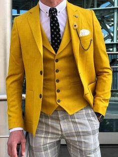New Men/'s Plaid Tuxedo Vest Waistcoat only Plaid checkers Turquoise prom Wedding