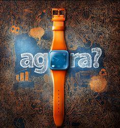 """Usando o conceito da moda dos wearable, lançados como relógios pela Samsung e Apple, o Itaú lança uma campanha de ano novo chamada """"Agora"""", criada por Ivan Loos, trazendo a premissa que o momento d..."""