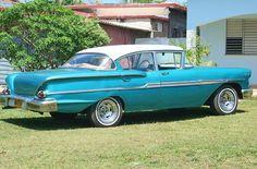 1958 Chevrolet Delray (3rd Gen) 4-Door Sedan 4.6L Turbo Fire V8 Engine