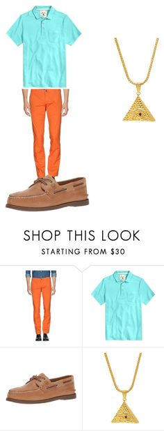"""""""Untitled #51"""" by gerardojuarezcarbajal on Polyvore featuring Tasso Elba, King Ice, men's fashion and menswear"""