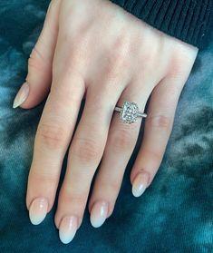 Radiant Cut Engagement Rings, Engagement Sets, Halo Diamond Engagement Ring, Engagement Ring Settings, Radiant Cut Diamond, Ring Designs, Dior Purses, Dream Wedding, Nail Art