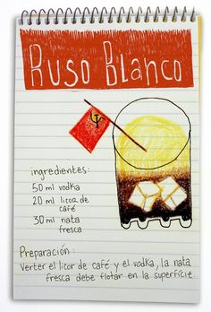 Ruso Blanco: cóctel con vodka Drinks Alcohol Recipes, Non Alcoholic Drinks, Bar Drinks, Cocktail Drinks, Yummy Drinks, Cocktail Recipes, Healthy Drinks, Getting Drunk, Wine And Beer