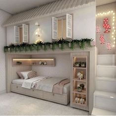 the boo and the boy: house beds and storage