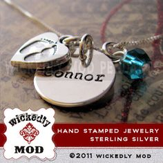 Personalized Necklace  Mother Necklace  by wickedlymodpendants, $49.00
