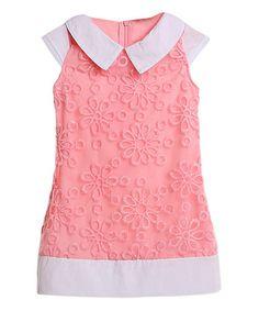 Love this Pink Daisy Dress - Toddler & Girls on #zulily! #zulilyfinds