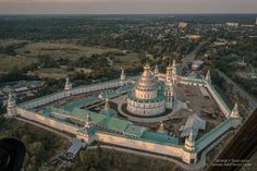 New Jerusalem Monastery, Russia New Jerusalem, Holy Land, Burj Khalifa, 17th Century, Christianity, Russia, Building, Travel, Architecture