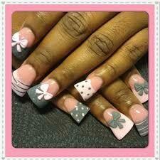 Gray nail