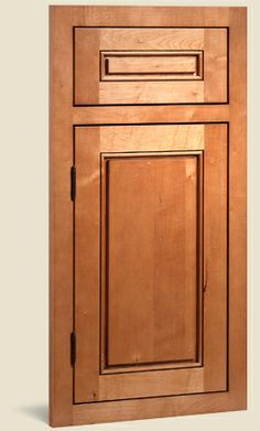 Fairmont Maple Caramel Jute Glaze, door style for future kitchen (cliqstudios) - I love these cabinets!