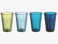 WATER Set of 4 tumblers